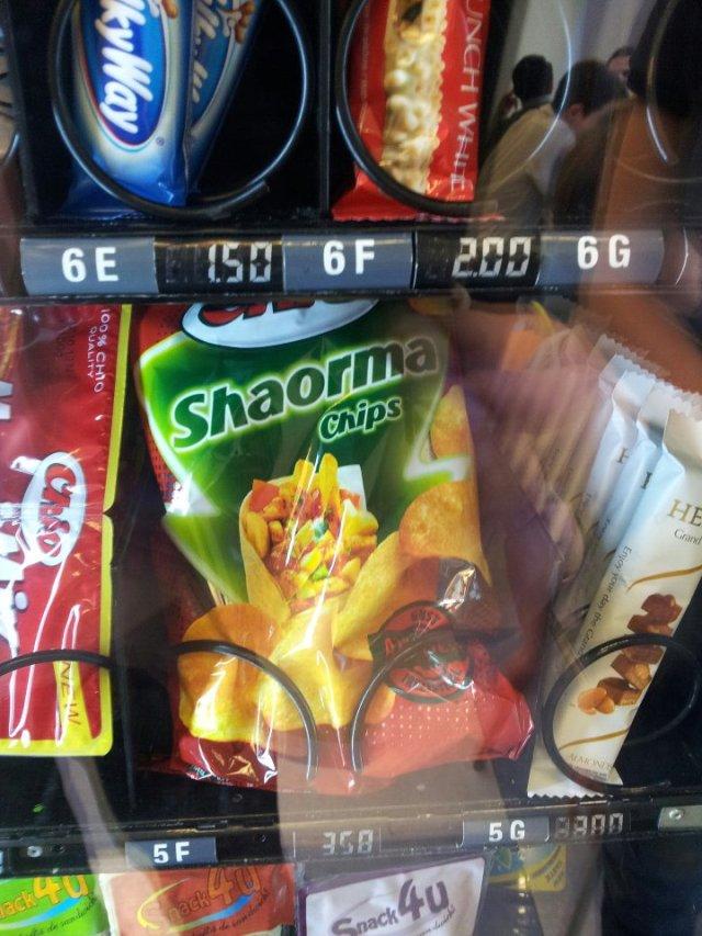 Shaorma Chips