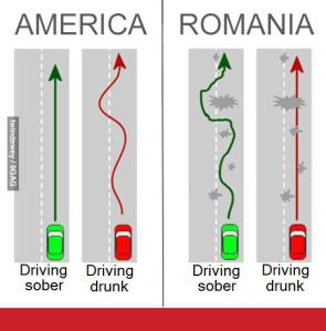 Condus în România