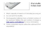 Nu mânca iPod-ul.